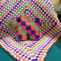 Knitting donations