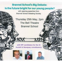 Everyone is welcome to this event at Brannel School.