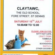 Cat's Protection coffee Morning 15th July 2017