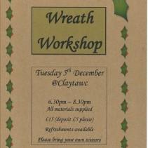 Foliage wreath workshop