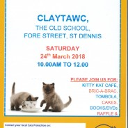 Cat's Protection coffee morning