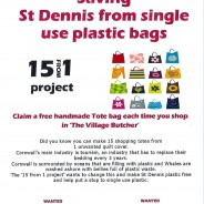 Stop the plastic in our village!