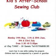 Kid's sewing club