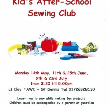 Kid's sewing club