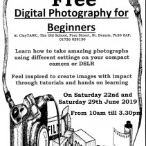 FREE Digital photography workshop