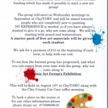 New St Dennis Art Group for beginners