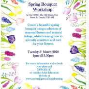 Spring Bouquet workshop