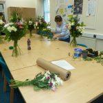 Flower arranging workshops!