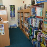 Cornwall Council Micro-Library, situated in ClayTAWC reception