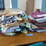 The 15 from 1 volunteers have been very busy sewing!
